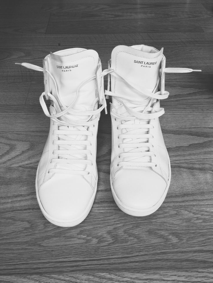 White Sneakers / Saint Laurent