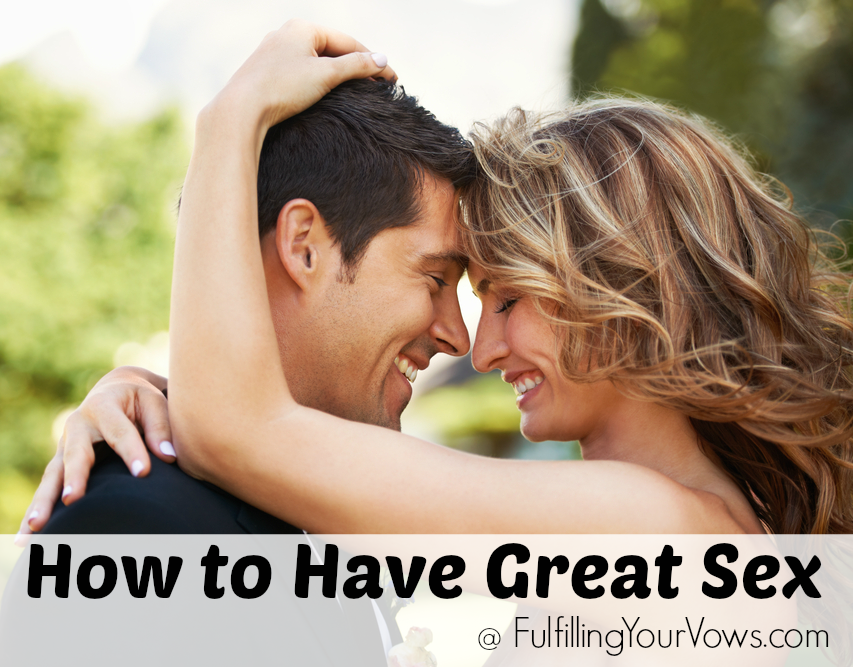 Special ways to have great sex
