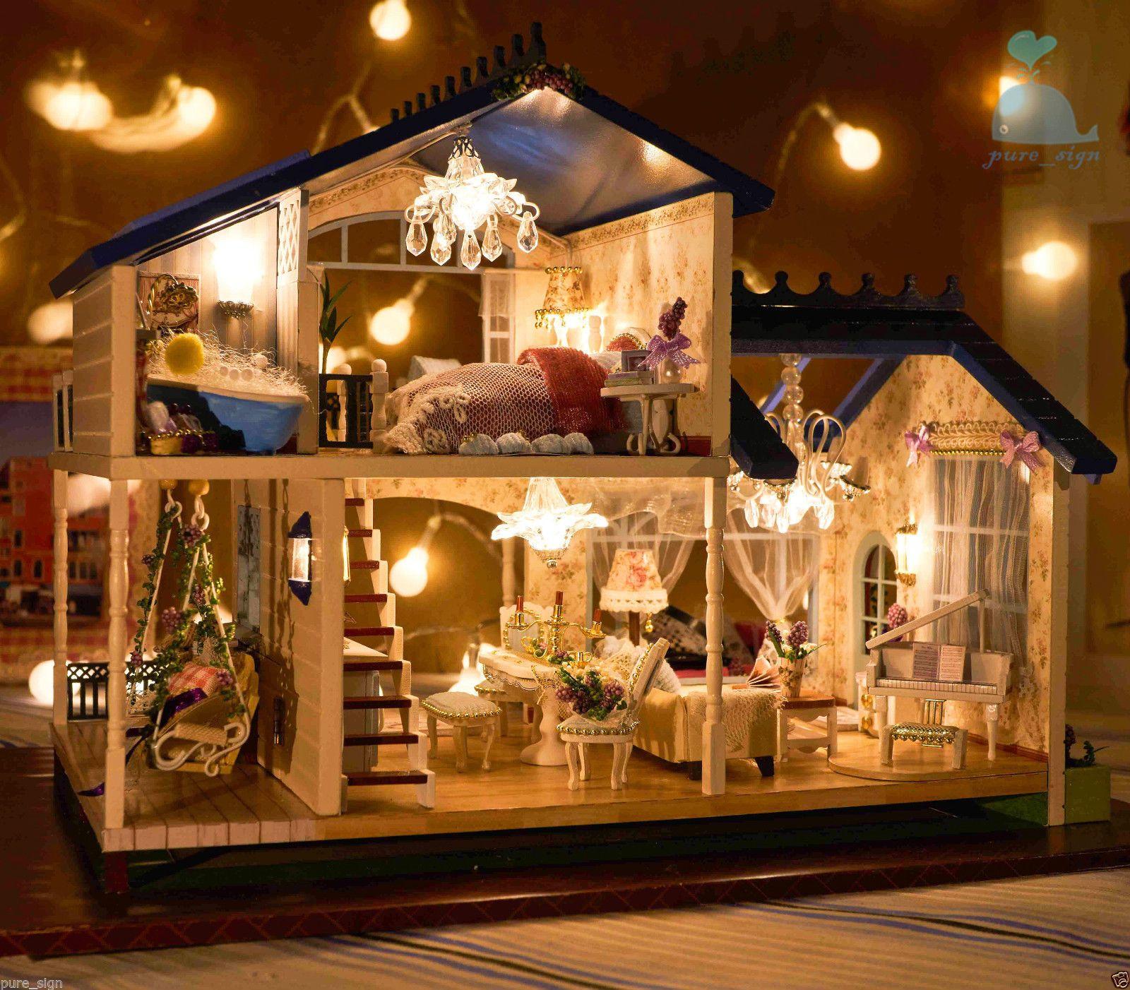 Diy handcraft miniature project dolls house my provence for Casa mendoza muebles villa martelli