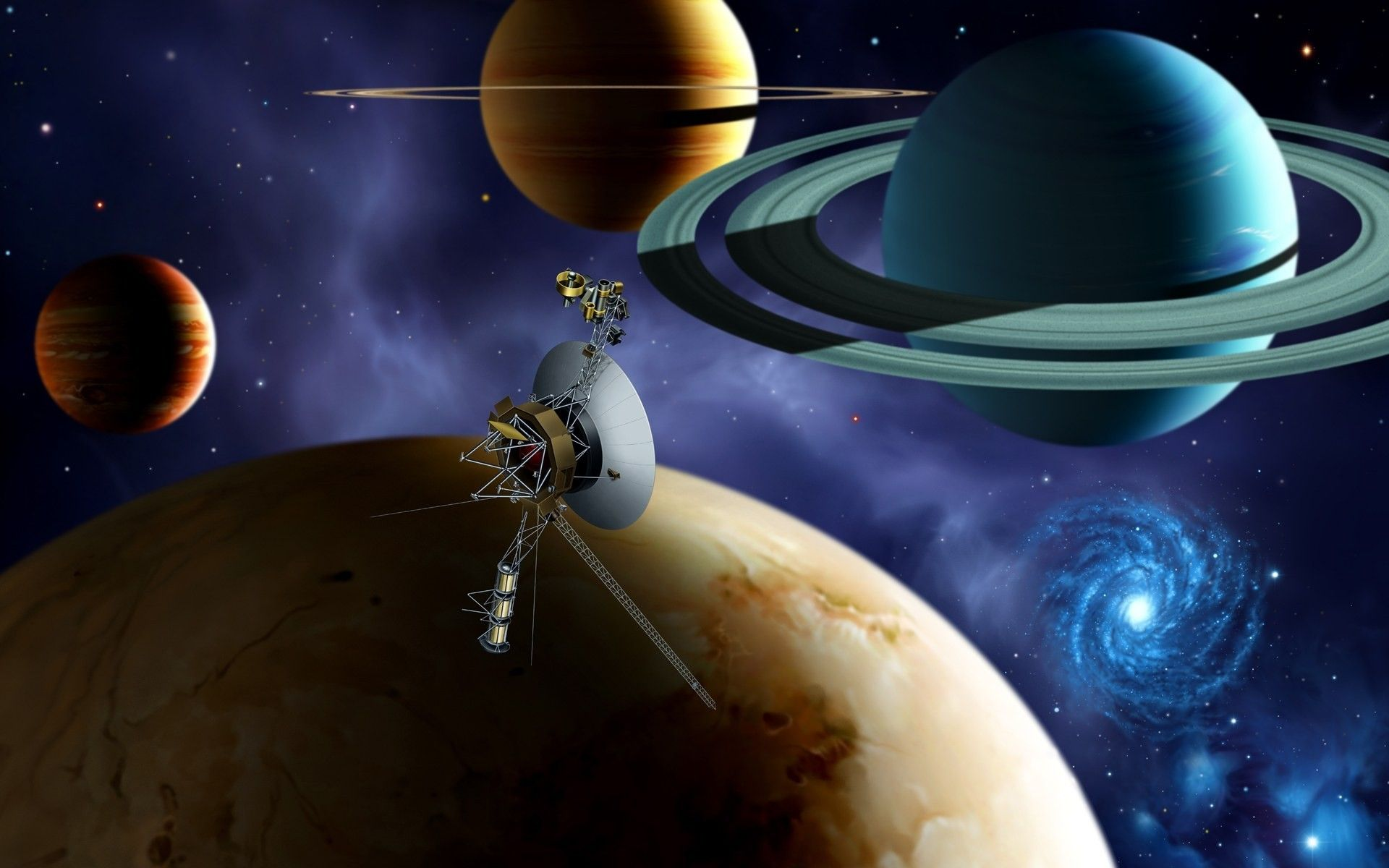 space probes for kids - HD1920×1200