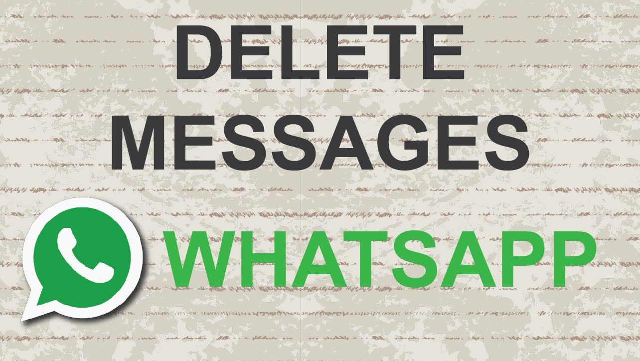 How To Delete Whatsapp Messages #whatsapp #video #youtube #tutorial  #messenger #