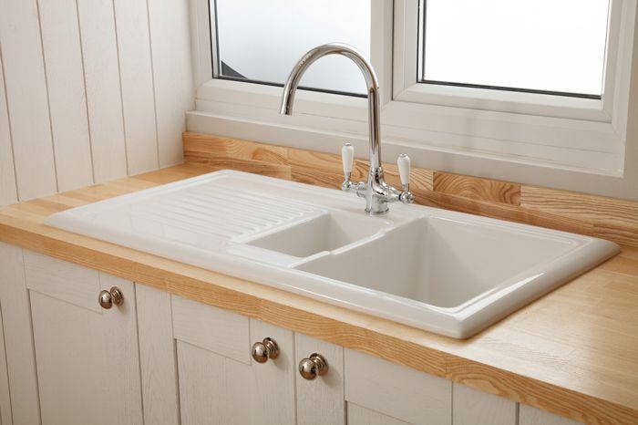 Image Result For Ceramic Inset Kitchen Sink Oak Worktops Images Oak Worktops Ceramic Sink Sink