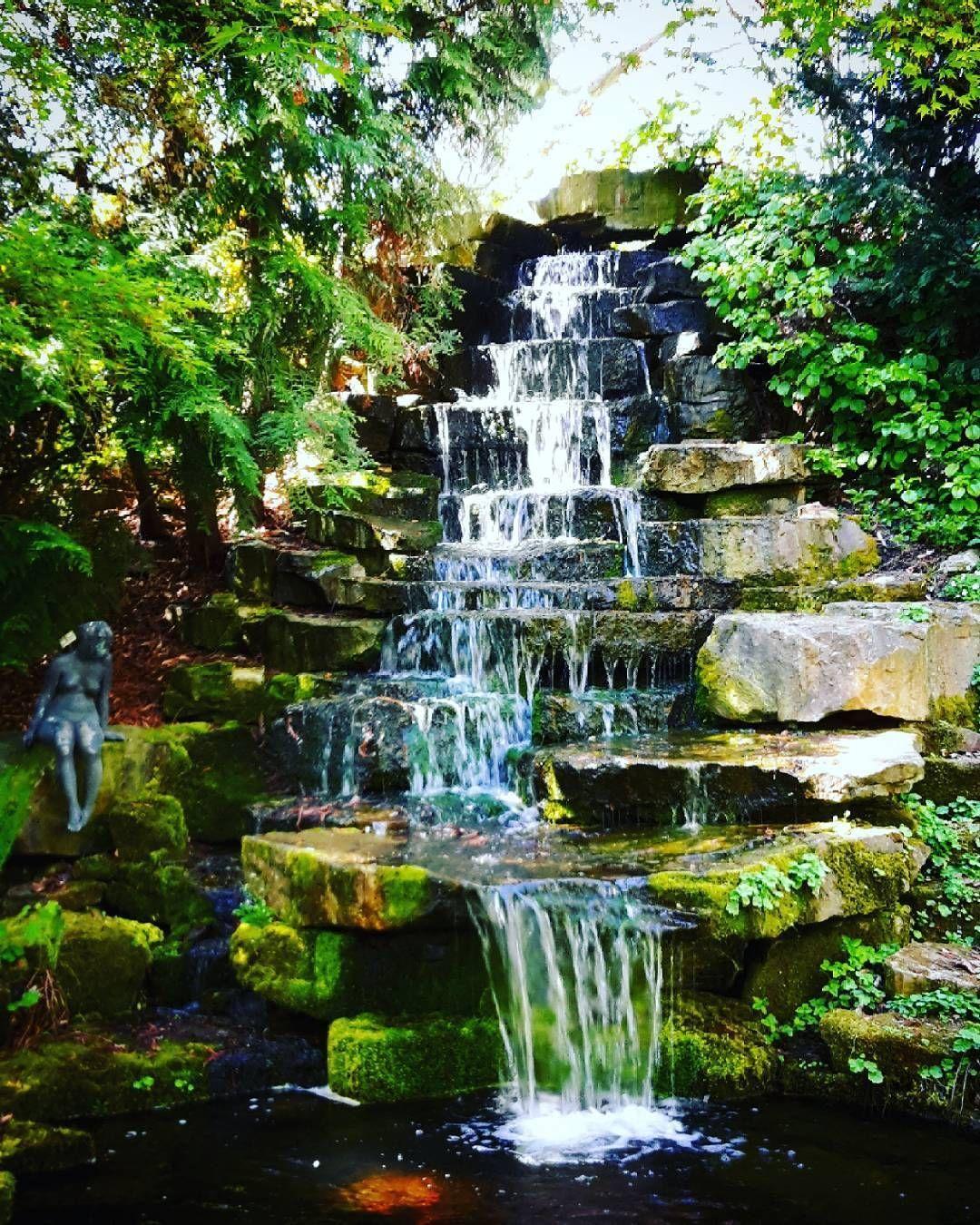 159pm Apr Germany Inga Instagram Post Utc Im Botanischen Garten Water Waterfall Nature Nature Perfection Natur Instagram Instagram Posts Inga