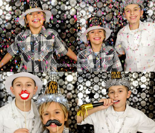 DIY Super Easy & Inexpensive PHOTO BOOTH idea! Great for ...