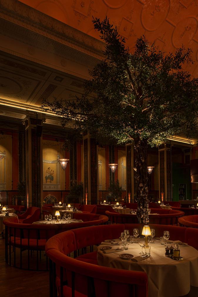 Stockholm Cinema Enjoys Second Life As Decadent Italian Restaurant
