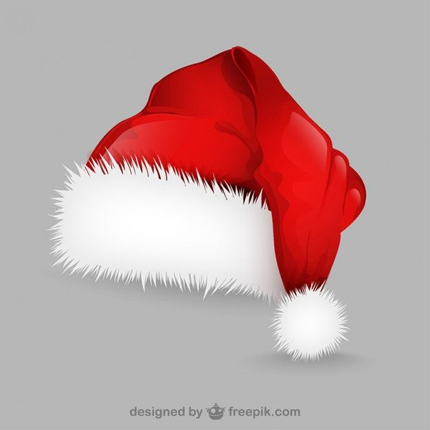 Download Santa Claus Hat Illustration For Free Christmas Card Illustration Santa Claus Hat Christmas Card Design