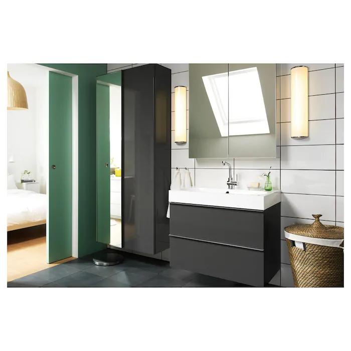 Godmorgon Spiegelschrank 2 Turen Ikea Deutschland In 2020 Spiegelschrank Ikea Godmorgon Badezimmer Spiegelschrank