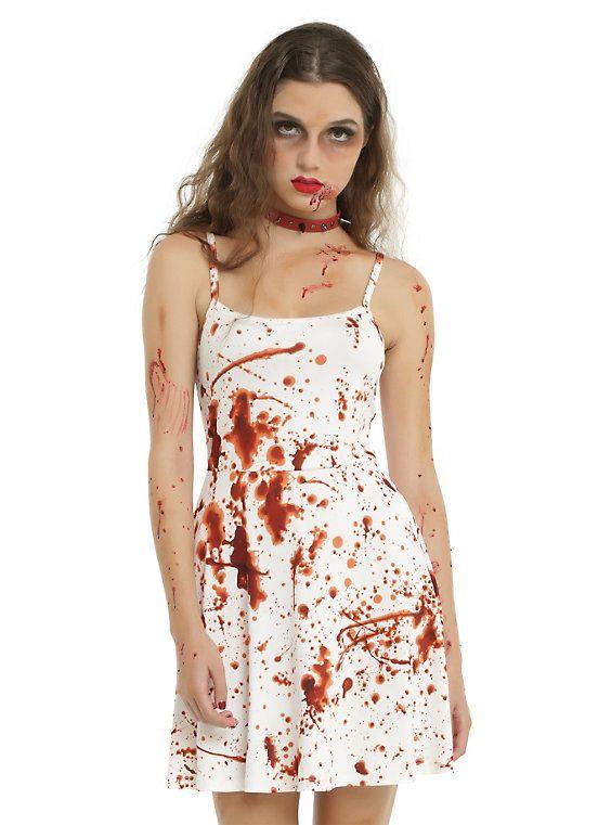 Blood Splatter On Clothes : blood, splatter, clothes, Costume, Ideas