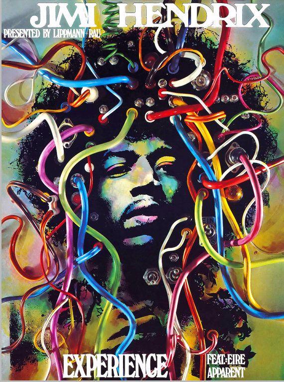 Jimi Hendrix Experience 1969 German Concert by FoxgloveMedia