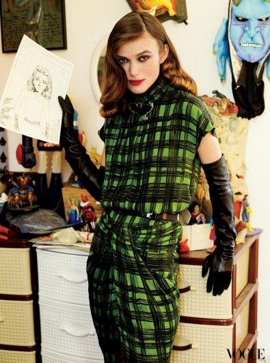 Vogue US - September 2008 - Keira Knightley in Vogue - Nieuws - Fashion