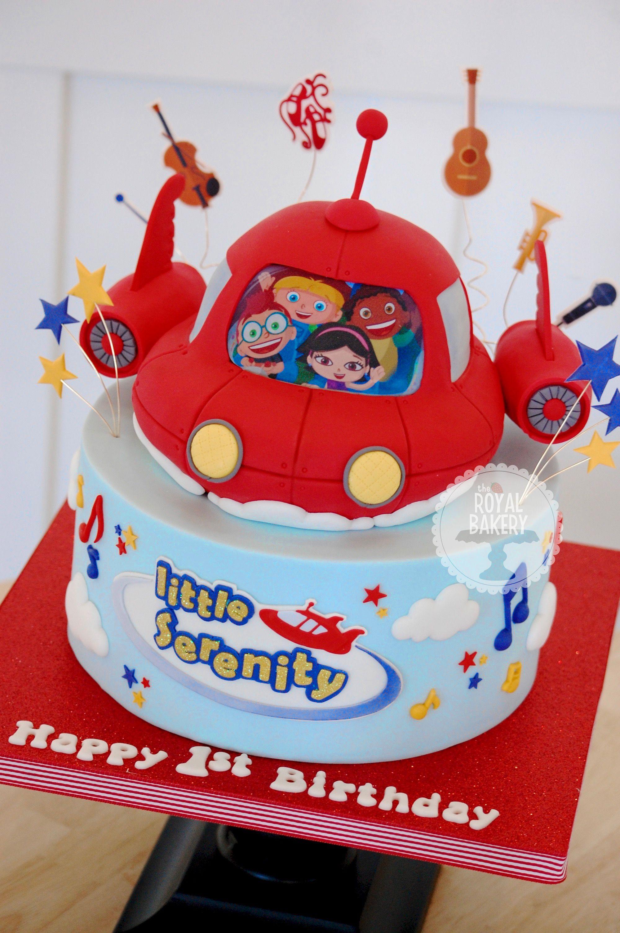 Little Einsteins Rocket Cake The Royal Bakery Pinterest Cake