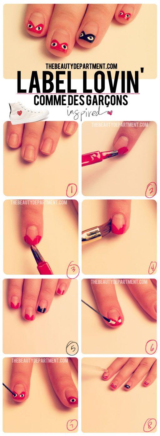 The Comme Des Farcons #manicure @TBDofficial
