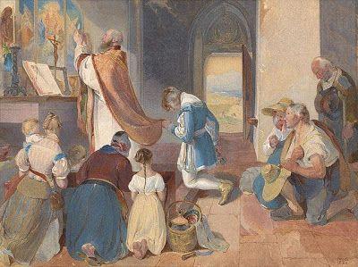 O Segredo do Rosário: Do modo de como não se deve assistir a Missa