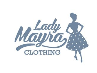 Lady Mayra Clothing By Ingepro Vintage Logoinspiration Retro