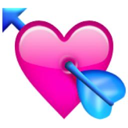 The Heart With Arrow Emoji On Iemoji Com Emojis Para Whatsapp Emojis De Whatsapp Significado Emoticones De Whatsapp