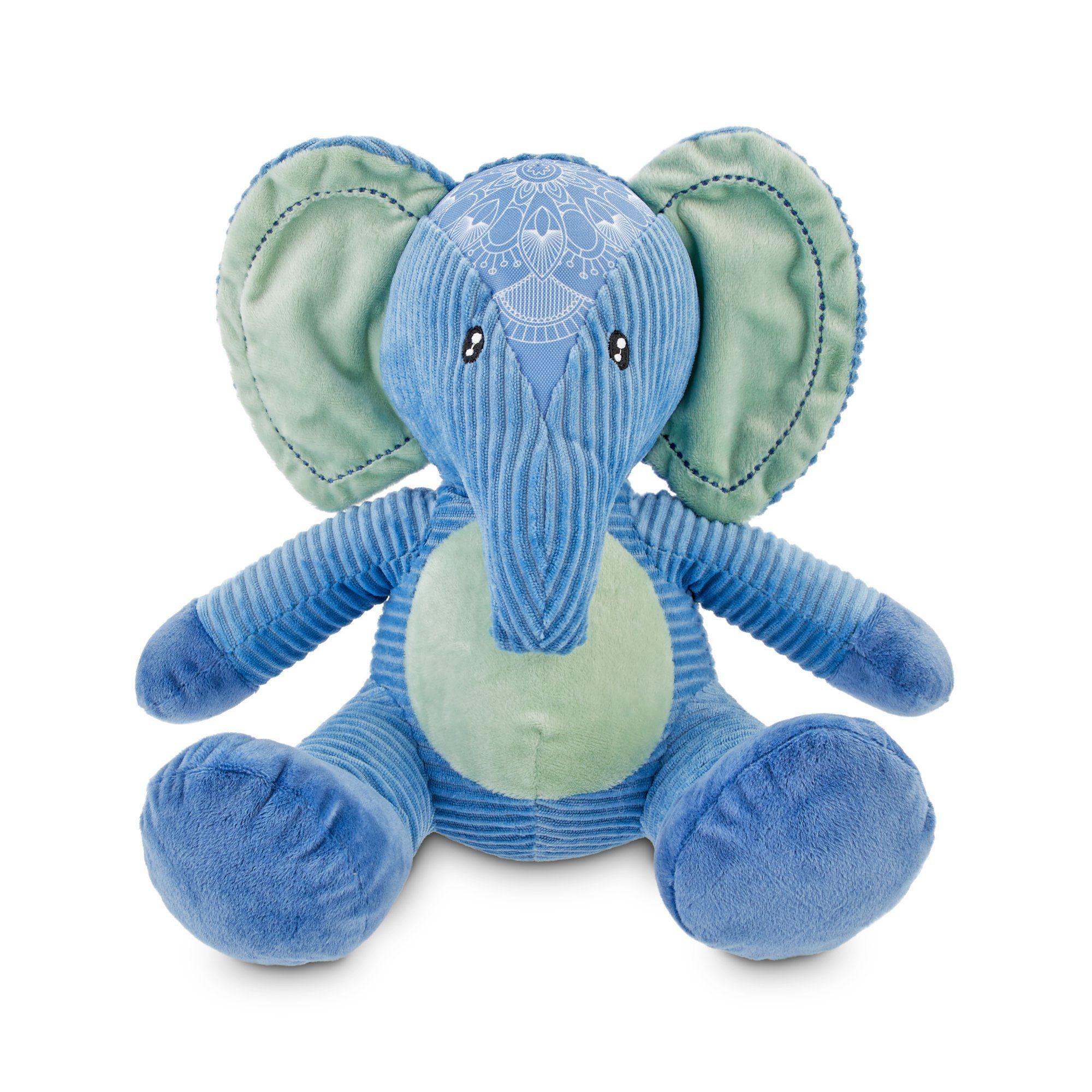 Serenity Peaceful Elephant Plush Dog Toy Large Plush Dog Toys