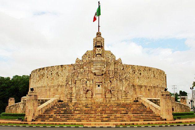 Es el  Yucatán's White City en Mérida. Son unas sitios para ver en Yucatán's White City.