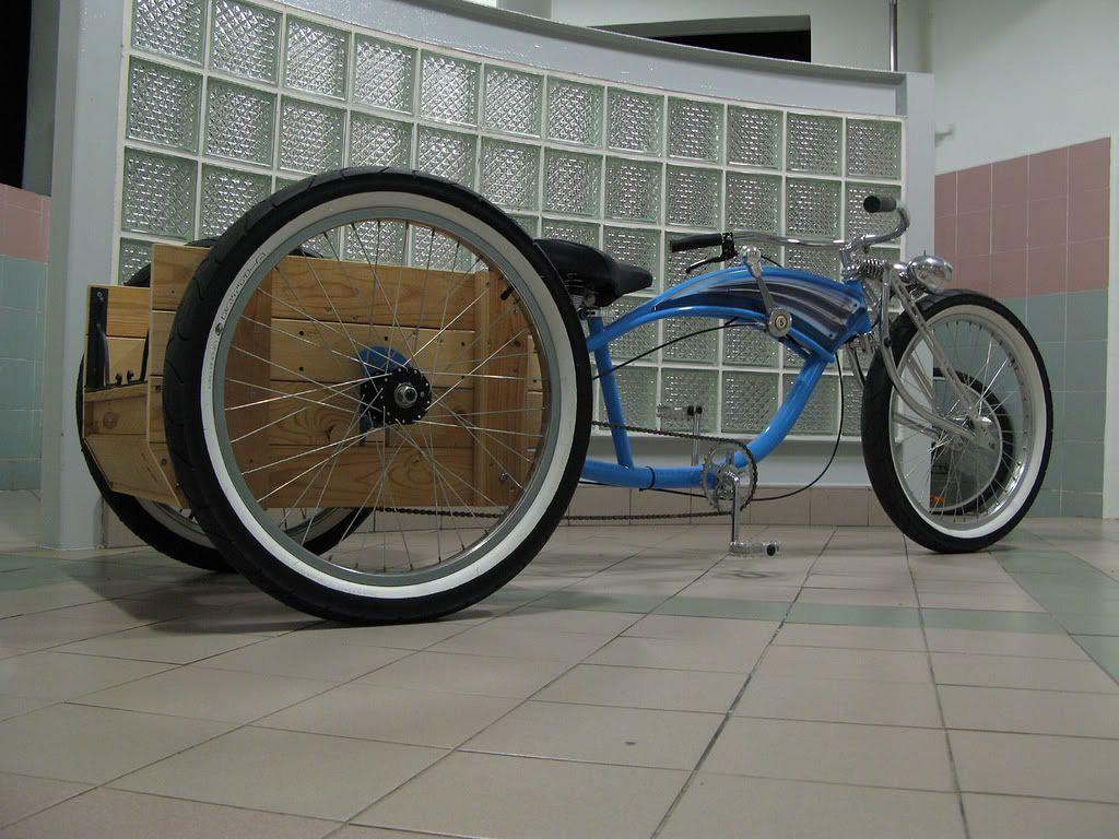 Stretch trike cruiser conversion motorized bicycle engine kit forum
