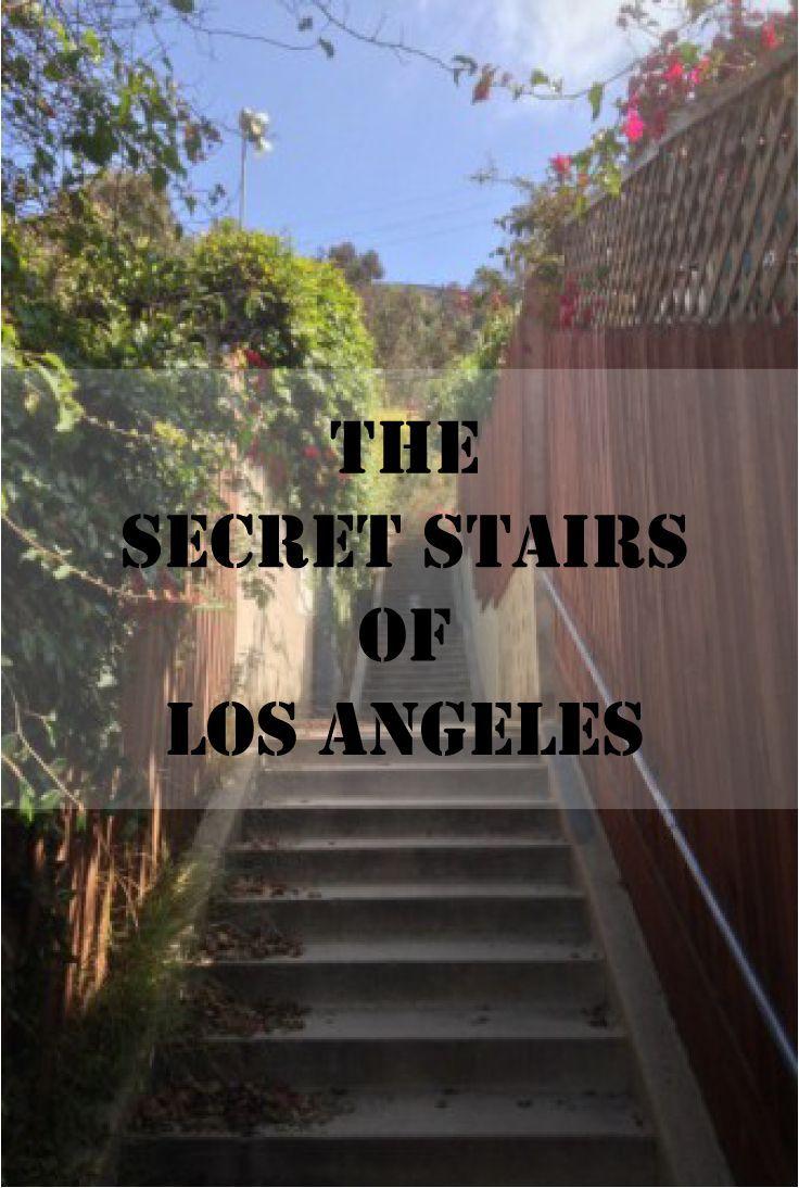 Discover Los Angeles' Hidden Network of Secret Stairs! #SecretStairs #LosAngeles #California #Hiking: