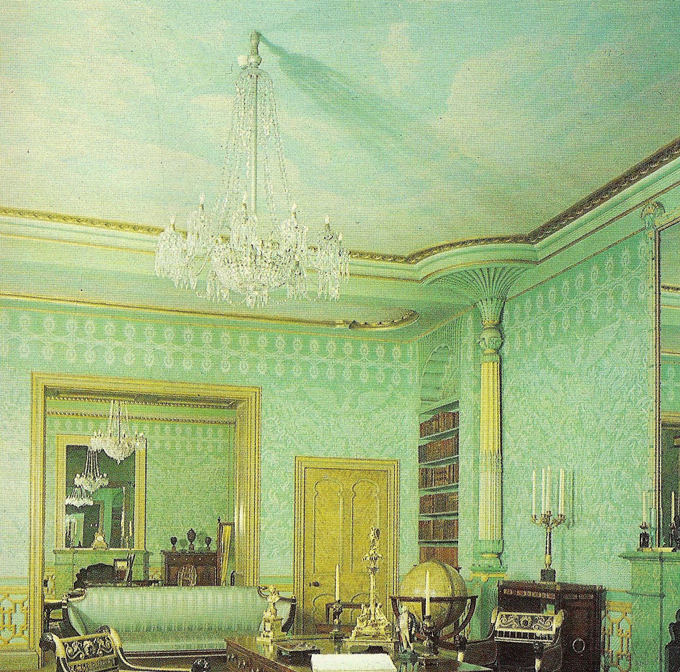 Painting Of The King's Apartments In The Royal Pavilion