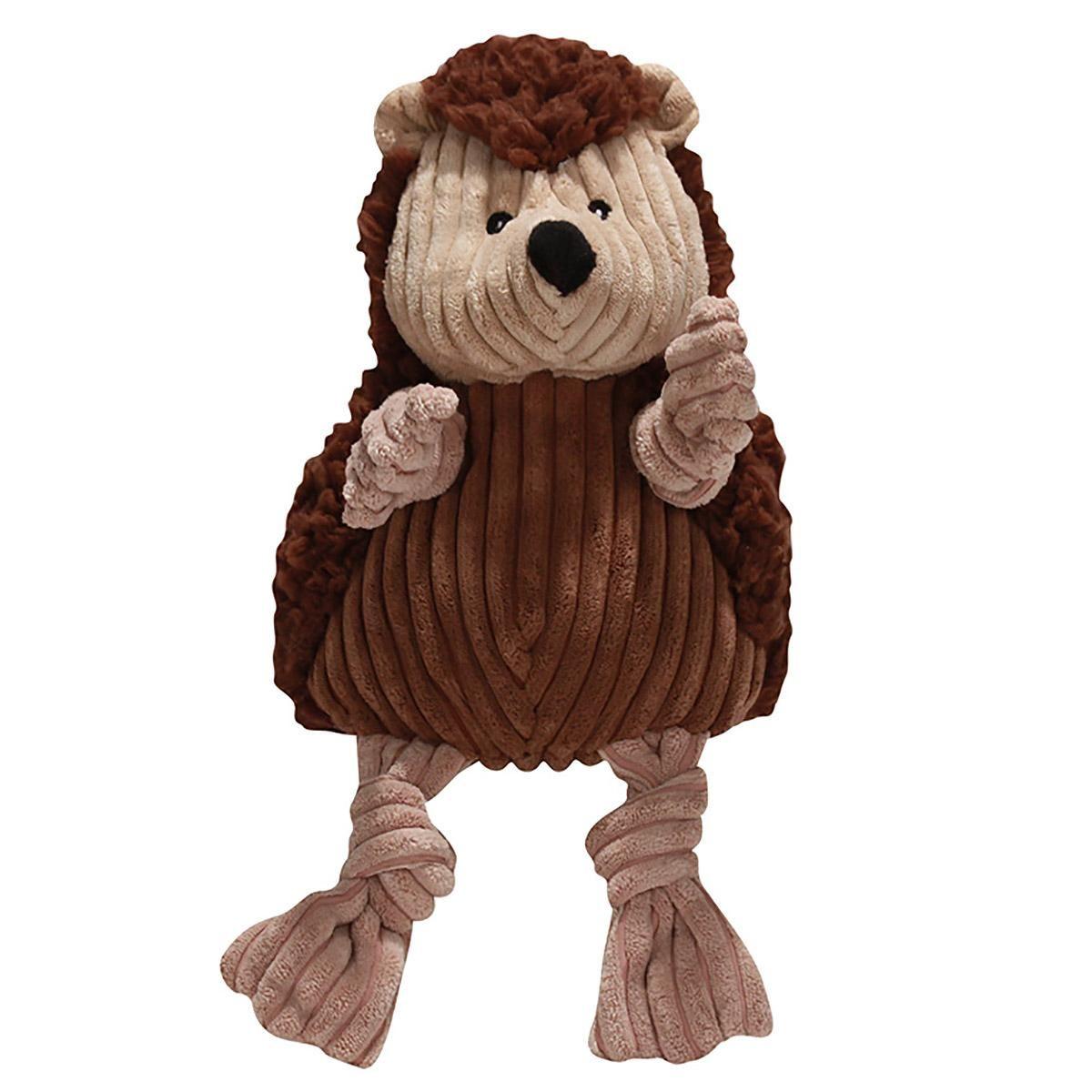 Hugglehounds Woodland Knotties Dog Toy Hedgehog Dog Toys