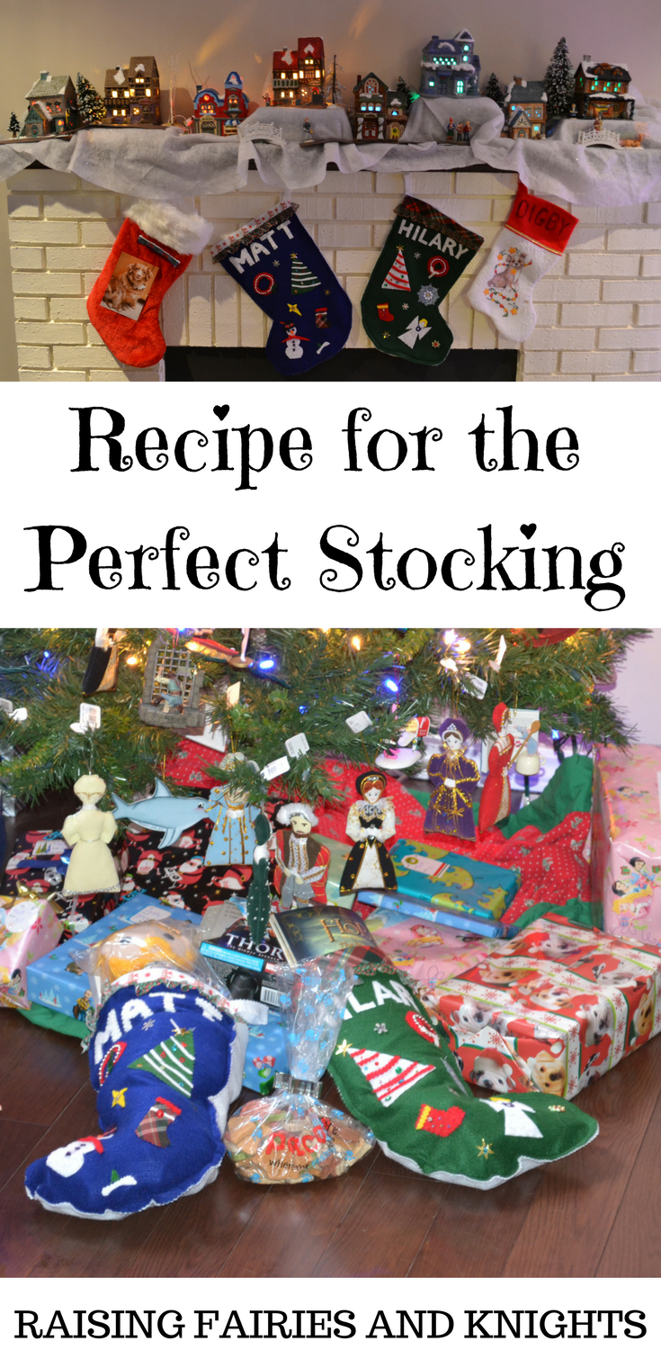 Recipe for the Perfect Stocking - Do you know how to make the perfect stocking?  How to fill it with items they will enjoy and love?