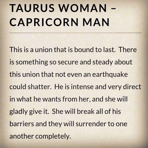 Male taurus compatibility capricorn female Taurus Woman