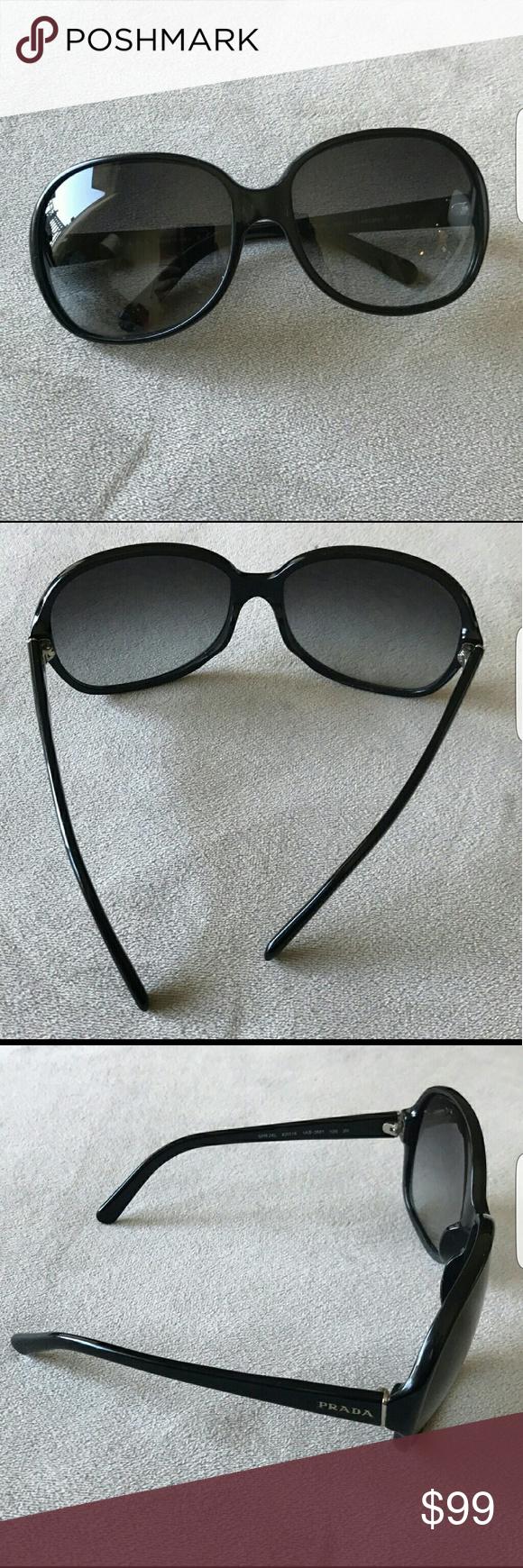 772913159c639 ... official store prada sunglasses euc no scratches authentic black  gradient prada sunglasses. 6fe61 9eac3
