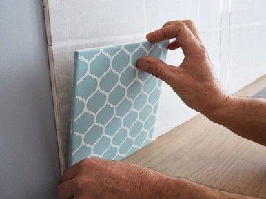 Cristalgrip, nanotechnologie pour poser le carrelage sans colle ni poussière | Carrelage mural ...