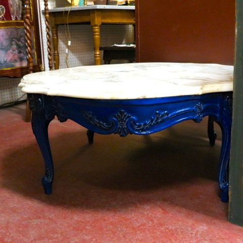 Sold Vintage Antique French Style Marble Top Coffeetable Circa 1940 Beautiful Grained Marble Top Bevelled Al French Antiques Coffee Table Antique Furniture