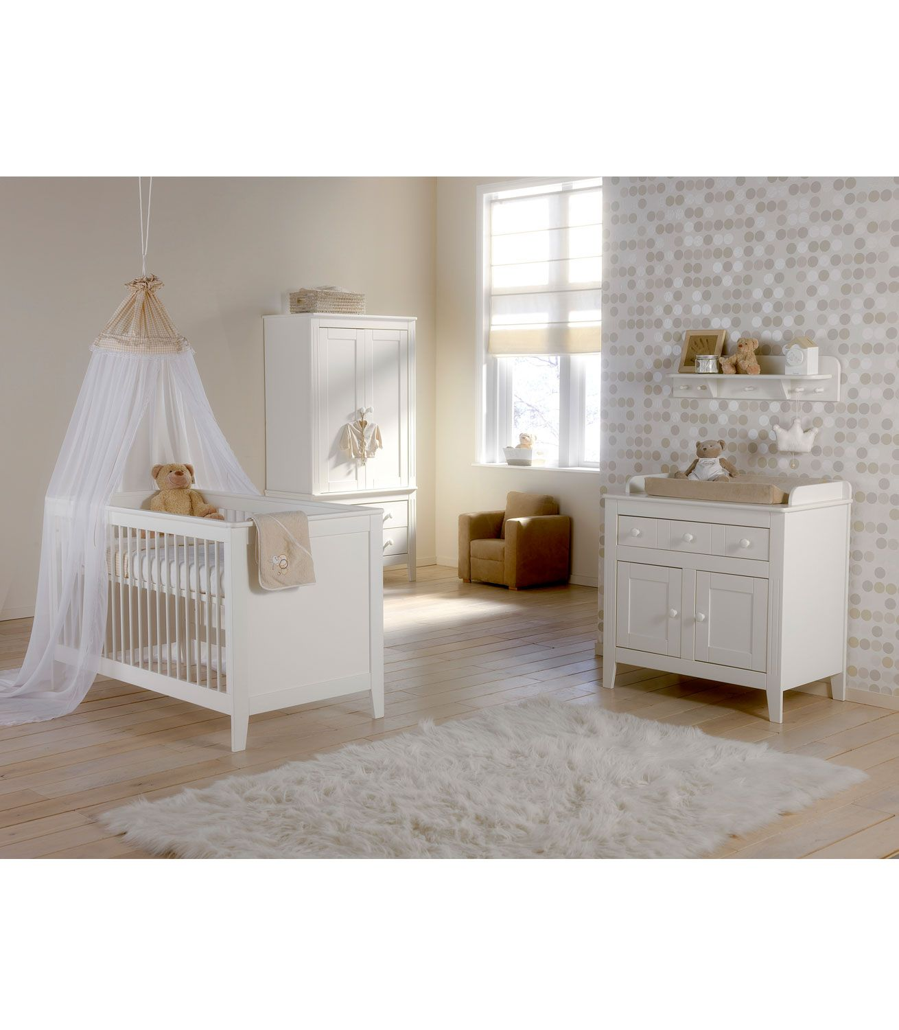 Buy your Europe Baby Montana Roomset Cotbed Chest & Wardrobe