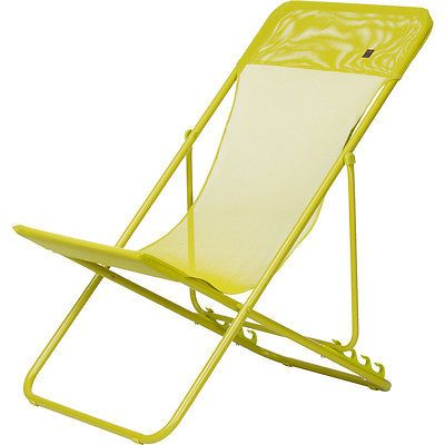 Lafuma Maxi Transat Camp Chair Papageno One Size Camping Chairs Chair Outdoor Chairs