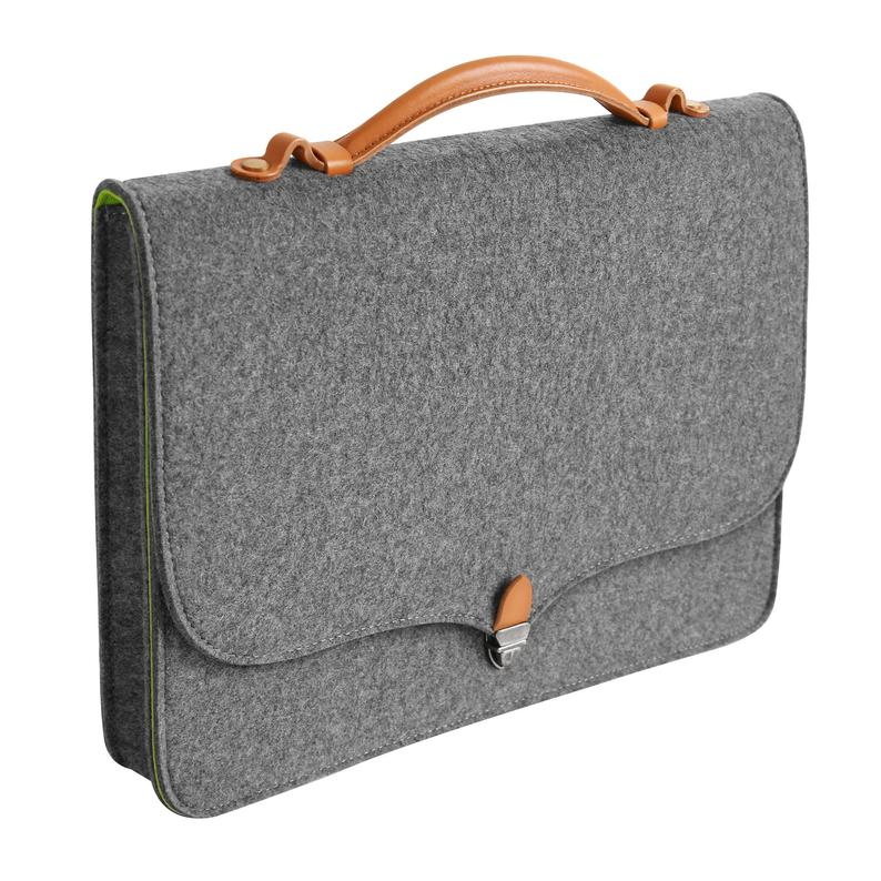 Tophome Wool Felt Portable Laptop Sleeve Laptop Case Etsy Portable Laptop Wool Felt Macbook Case