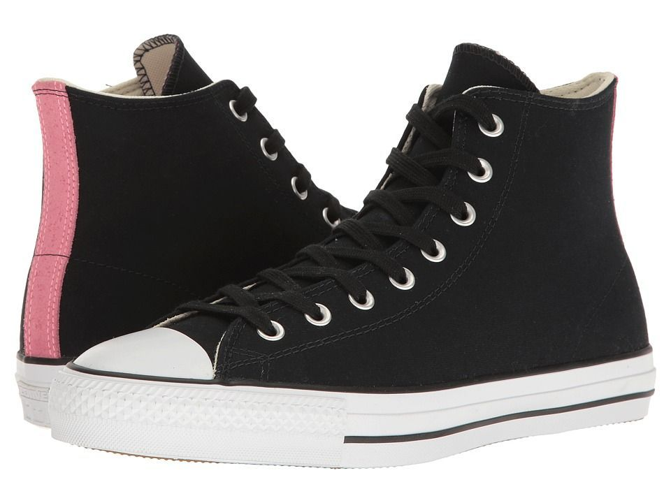 435b416f509b Converse - Chuck Taylor All Star Pro Suede Backed Canvas Hi (Black Pink Glow