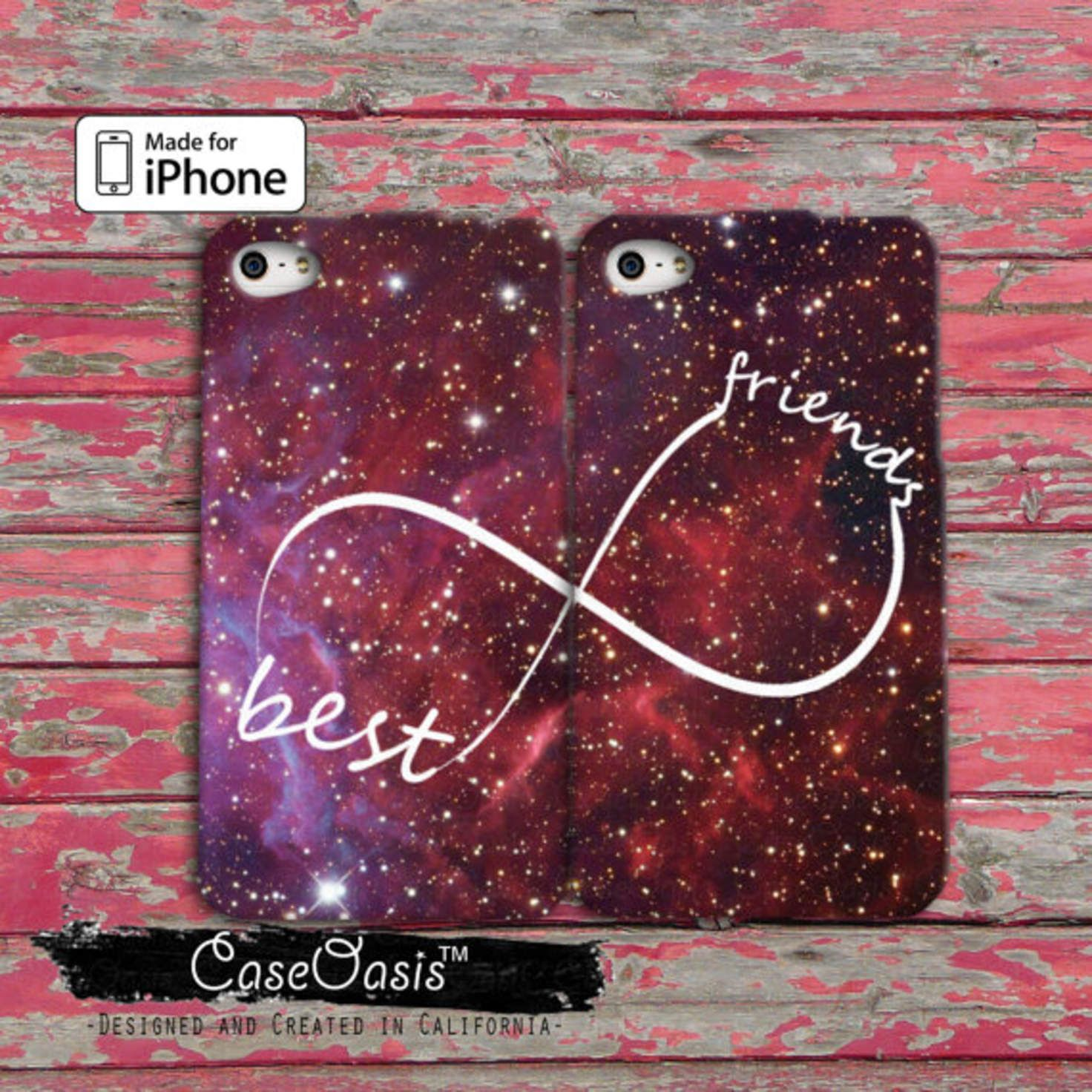 Best friends infinity symbol space galaxy pair matching iphone 44s best friends infinity symbol space galaxy pair matching iphone 44s case and iphone 5 biocorpaavc Choice Image