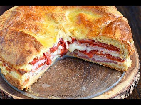 Italian Sandwich Torte - Everybody Loves Tuscany