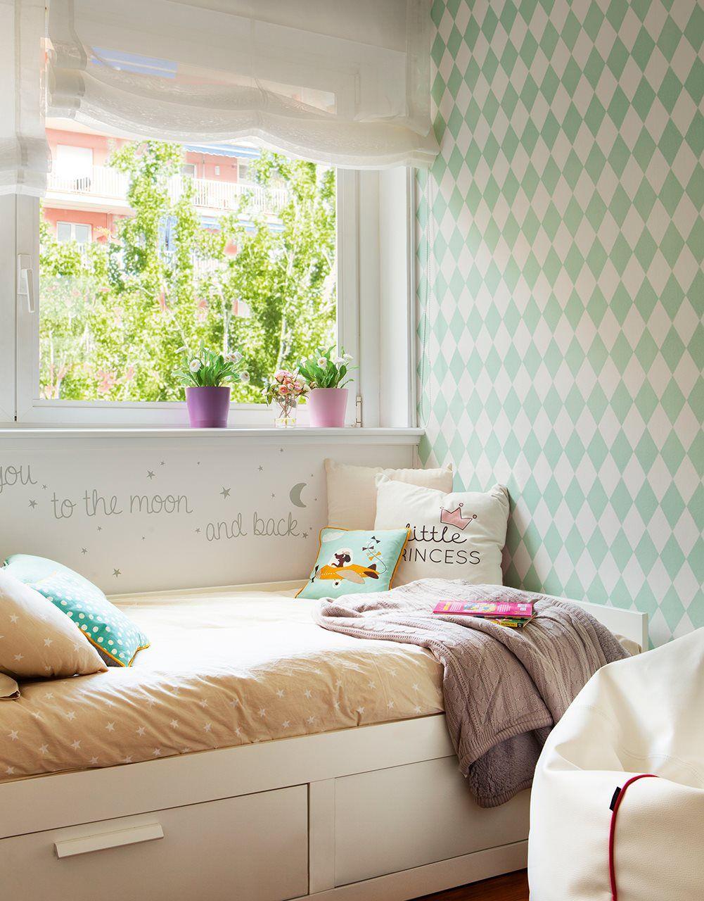 El Papel De La Pared Papel Pintado Habitacion Infantil  ~ Papel Pintado Para Habitacion Juvenil De Niña