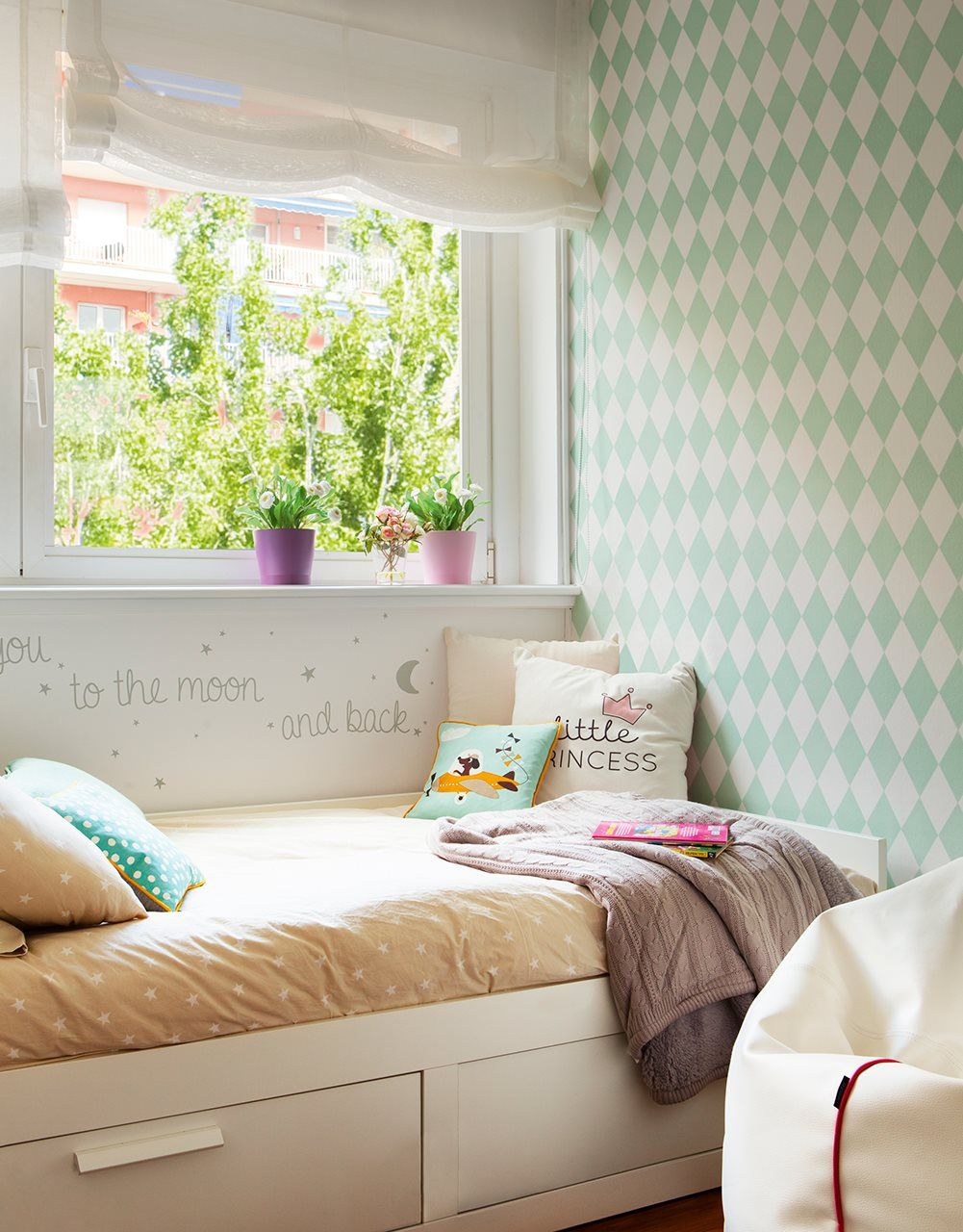 El Papel De La Pared Papel Pintado Habitacion Infantil  ~ Papel Para Habitaciones Juveniles