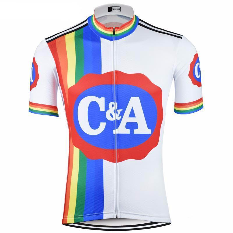 Retro C A Eddy Merckx Cycling Jersey Cycling Outfit Cycling