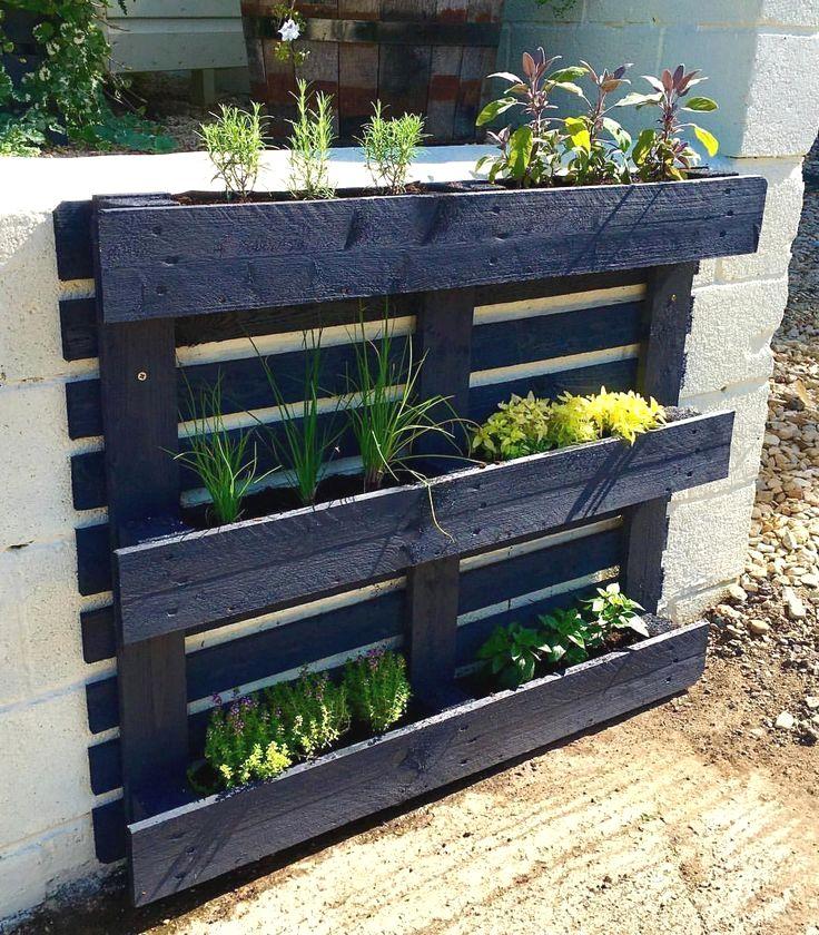 26 DIY Vertical Herb Garden Concepts
