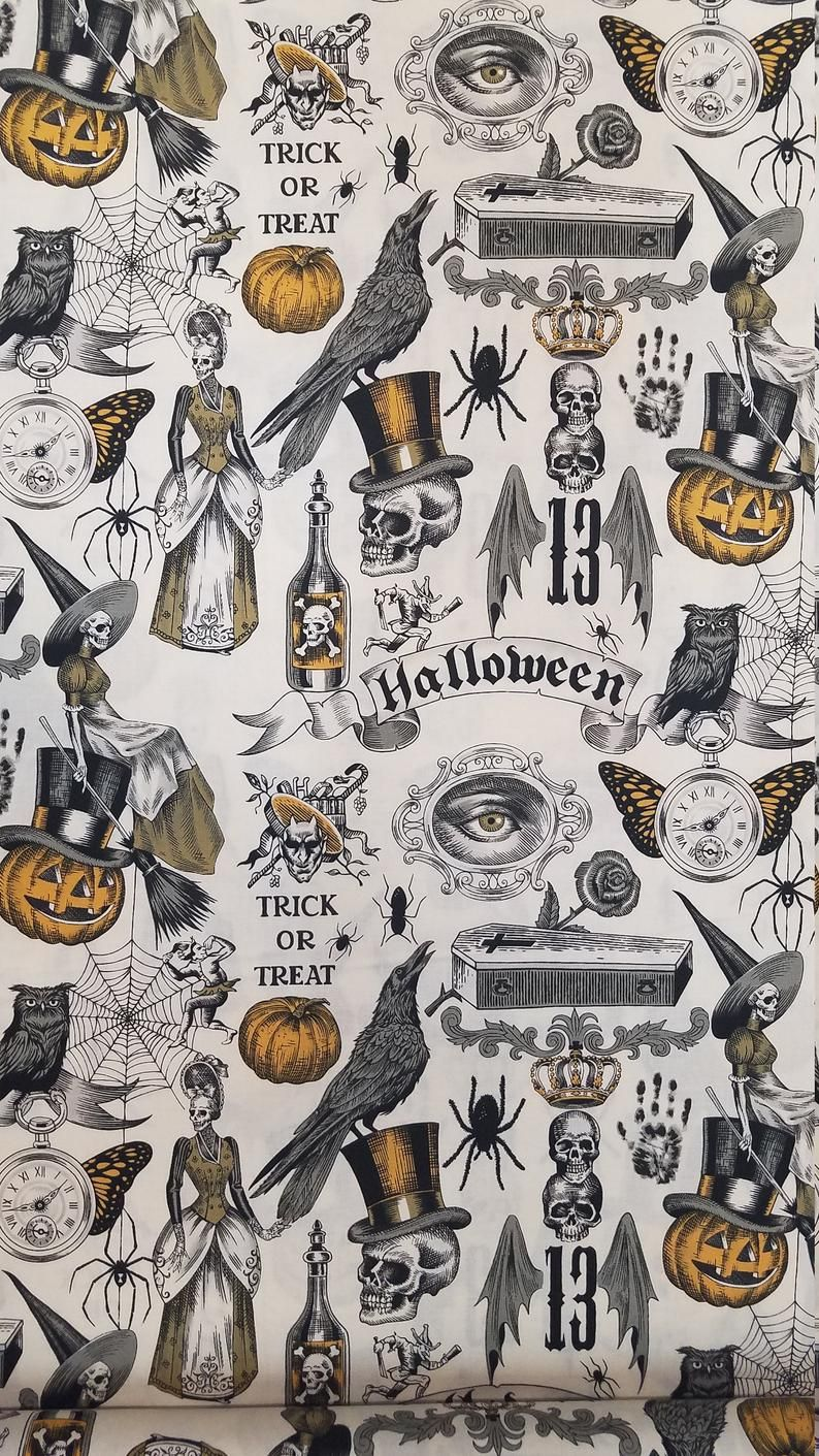 Trickery fabric, 100% Cotton, By-the-Yard and Fat