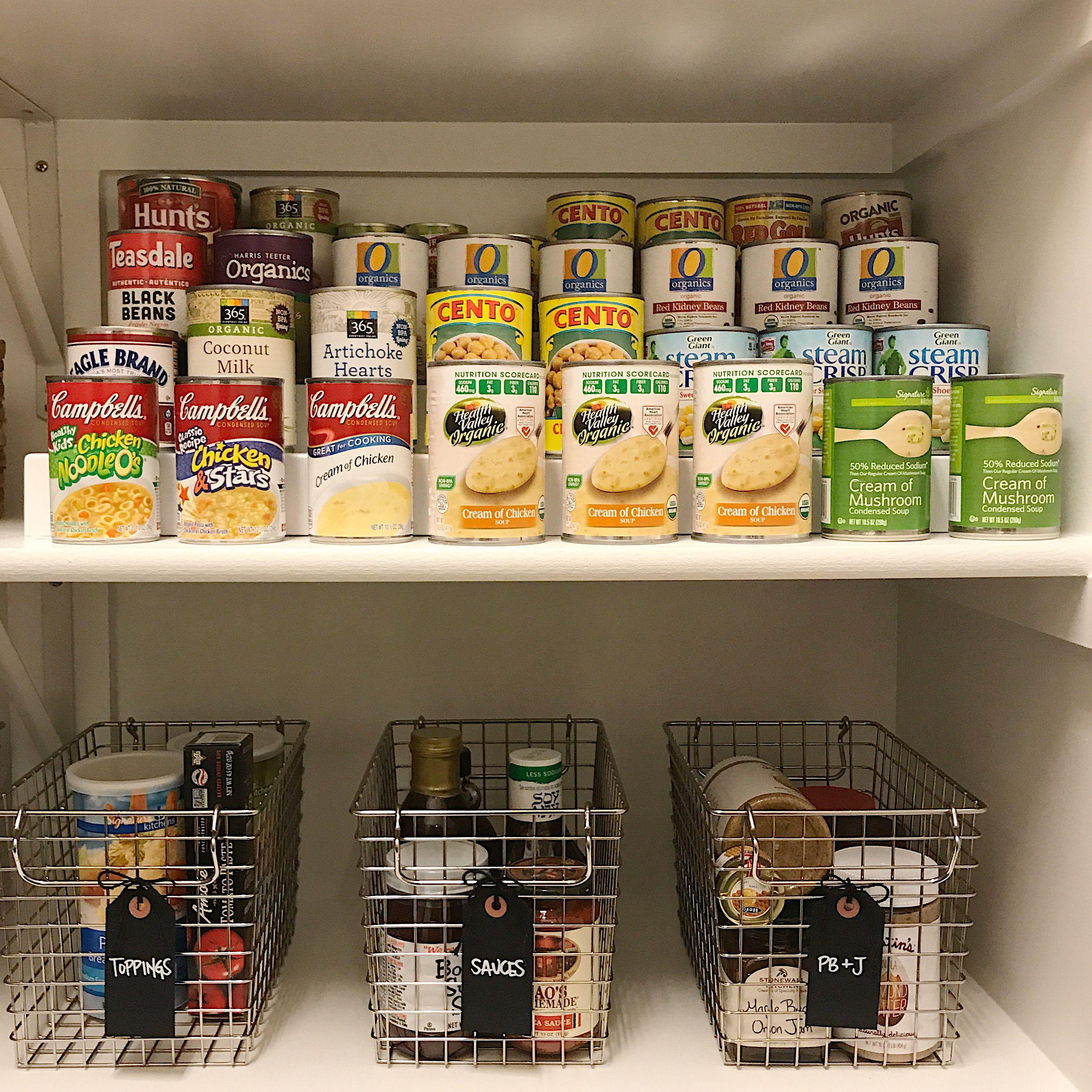 Canned Goods, Expand A Shelf, Shelf Risers, Canned Goods Storage,