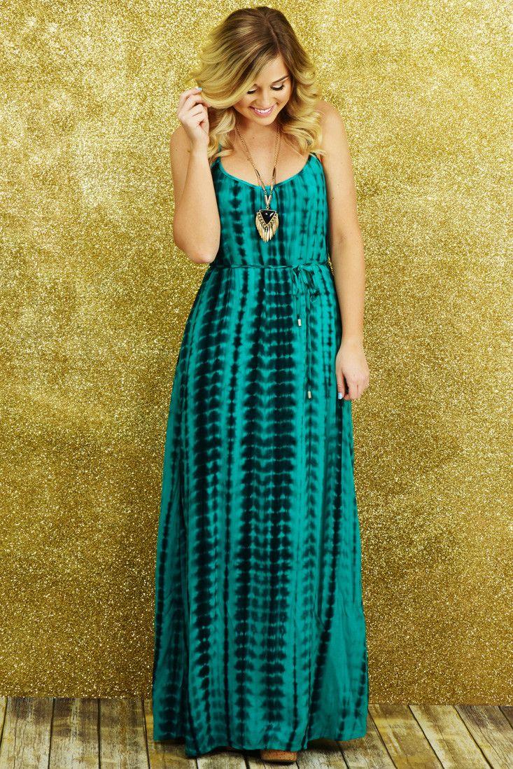 Oh My Heavens Maxi Dress: Teal/Multi #shophopes | Hope\'s | Pinterest ...