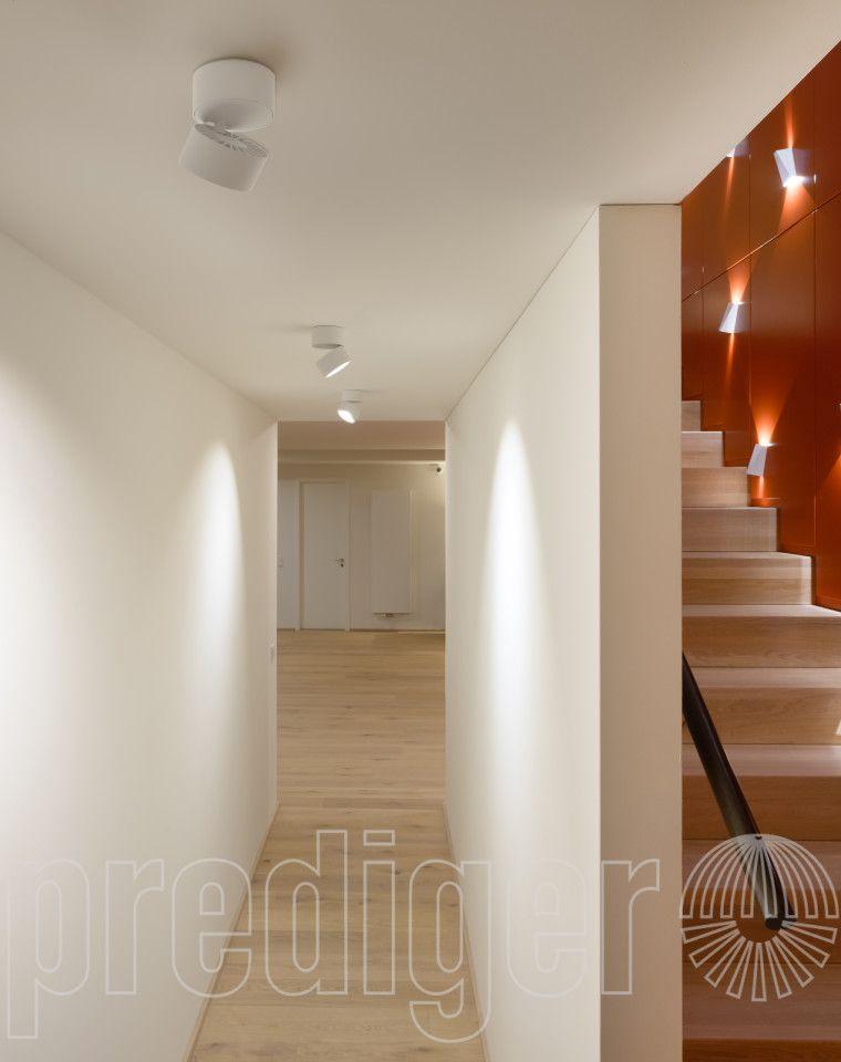 predigerbase p011 Ausrichtbare LED Decken- und Wandstrahler M 1er