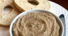 5-Minute Vegan Maple Cinnamon Cream Cheese Offers More Protein Than Store-Bought Brands www.popsugar...