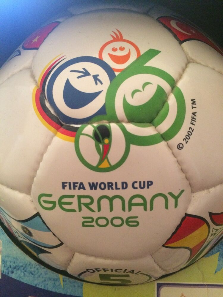 Rare Fifa 2006 Germany World Cup Official Licenced Soccer Ball Ebay