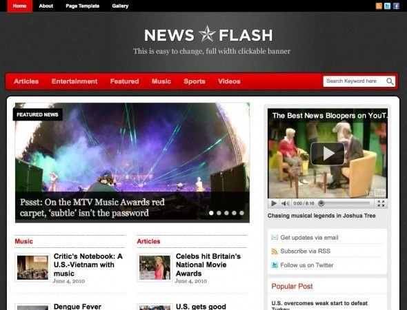 Create a news magazine website on any niche using this strategically