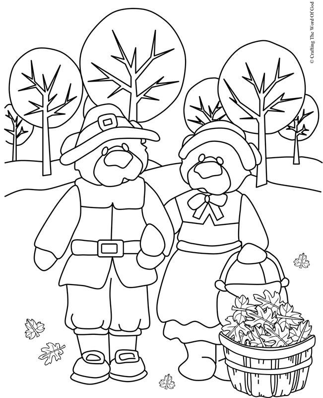 Thanksgiving Coloring Page 6 (Coloring Page) Coloring