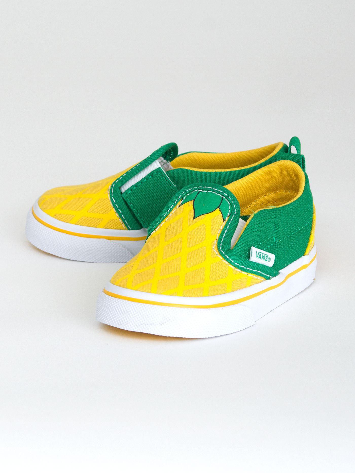 yellow toddler vans