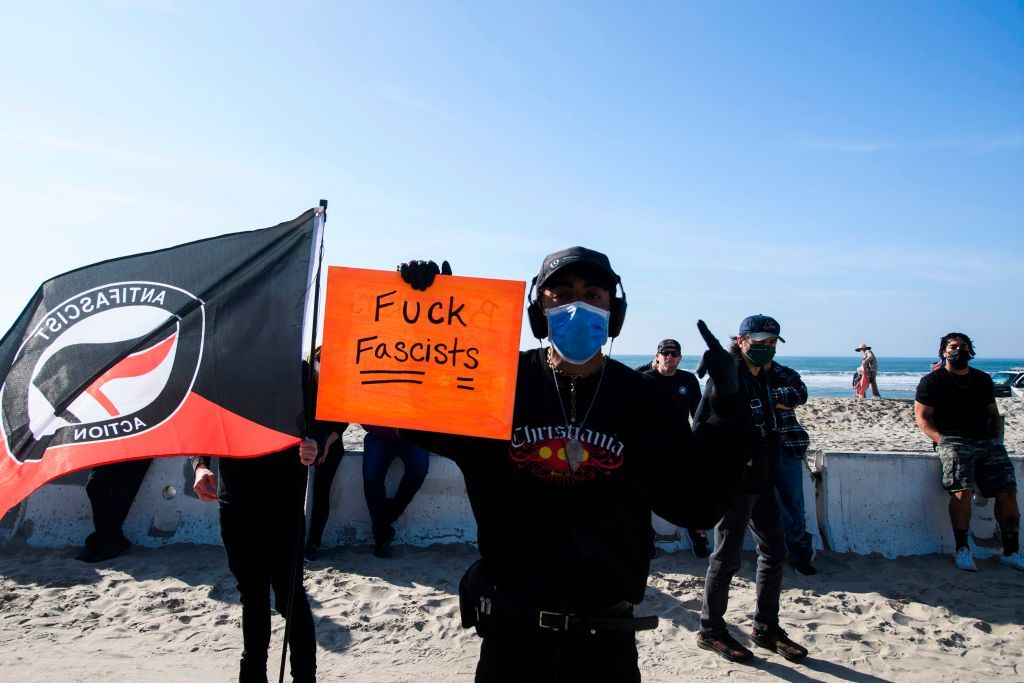 Right Wingers And Ultranationalists Convened In The City Days After The Washington In In 2021 San Diego Police Black Lives Matter Protest Los Angeles Police Department